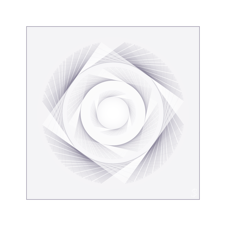 intersensa, graphics, ontwerp, logo's, visualisatie, abstract, vierkant, cirkel